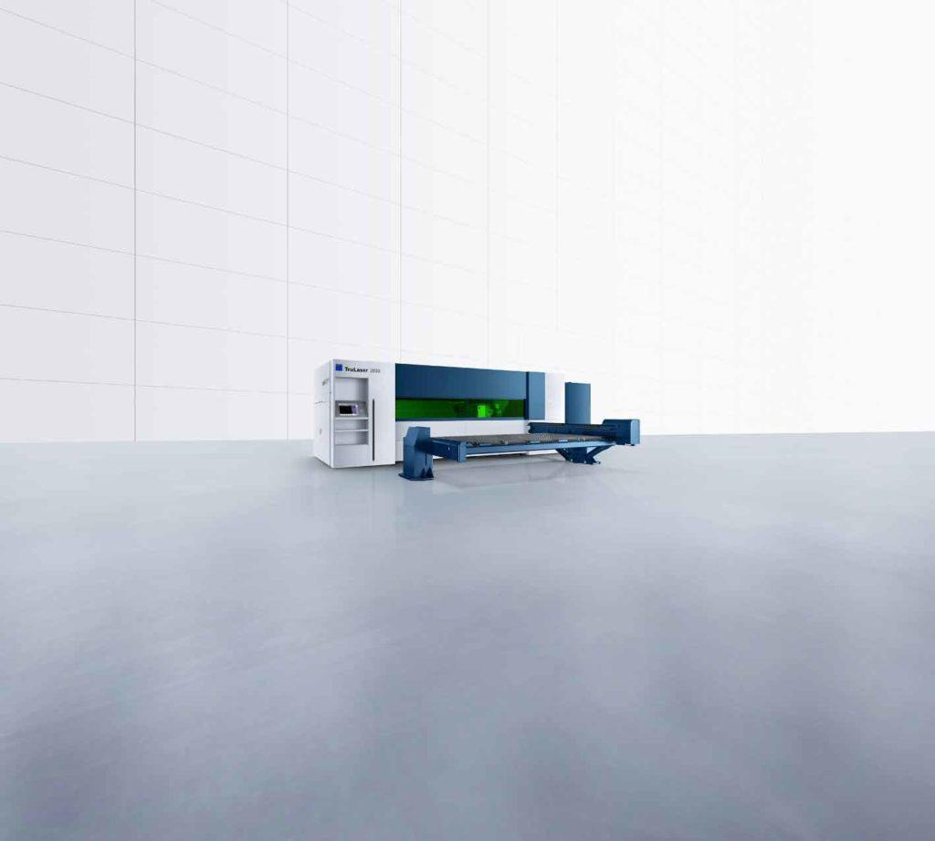 TruLaser 2030 fiber TruLaser Serie 2000 kombinerar fördelarna av en kompakt maskin med en avancerad högre maskinklassificering.