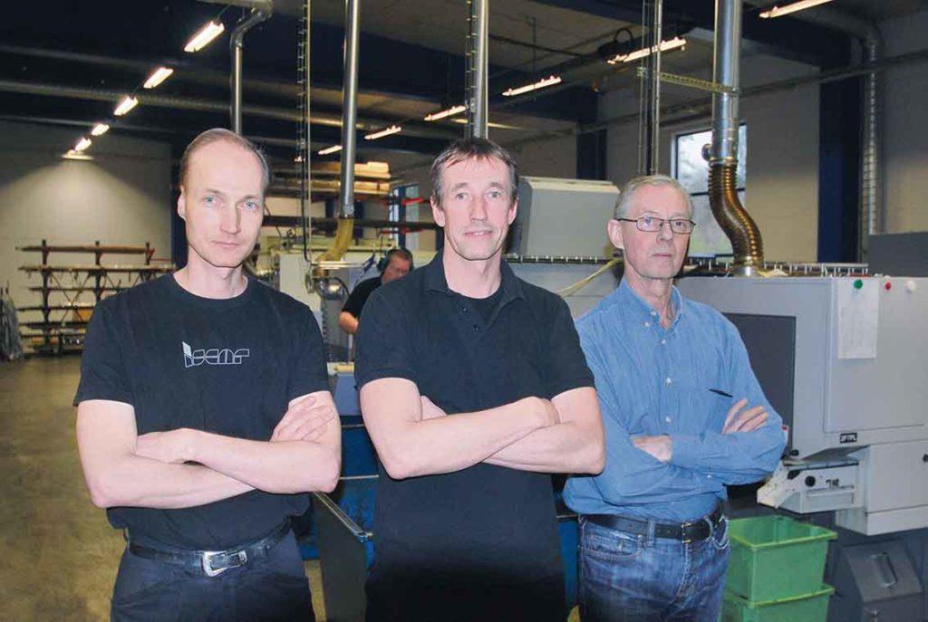 Mikael Jönsson, Thomas Jönsson och Bengt Jönsson saknar stöd från Sveriges regering när det handlar om bättre förutsättningar för att bedriva mekanisk industri idag.