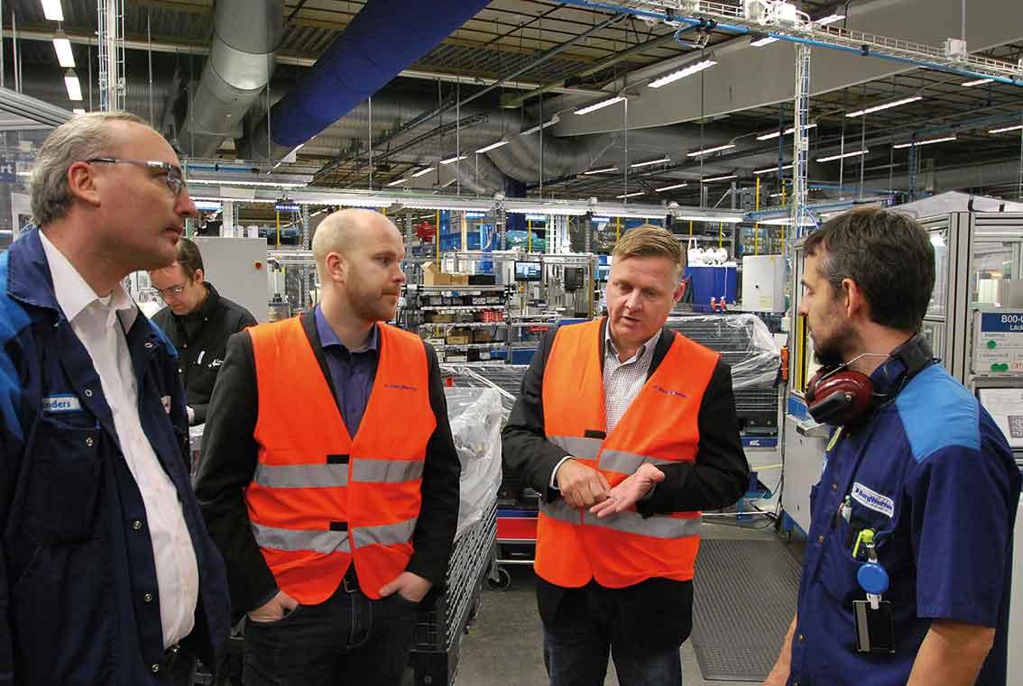 Här diskuteras renhetskrav;  Anders Nilsson, Anders Magnusson, Mattias Peterzon, och Daniel Nielsen.