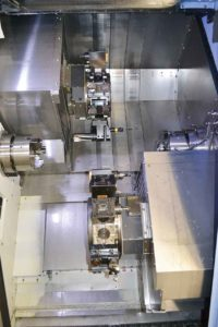 Merx har bestyckat maskinen med utrustning som gör dem konkurrenskraftiga.