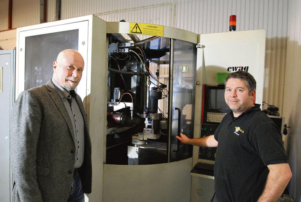 I de nya lokalerna i Jönköping kommer Ehn & Land att hålla sina utbildningar. Här renoverar man även äldre maskiner och ger dem nytt liv.