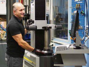Den nya Zollermaskinen är användarvänlig och enkel att förstå säger Denis