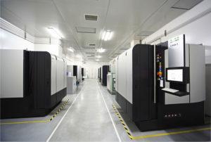 Tillverkning i modern maskinpark