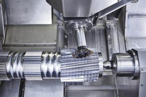 Vid tillverkning av kugghjul kan kuggflankerna härdas direkt efter fräsning.
