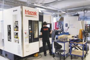 Man har ett starkt förtroende för verktygsmaskiner från japanska Mazak och uppdaterar sin maskinpark utifrån nya förutsättningar på marknaden och kundkrav.