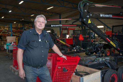 Tillverkningen av skogsmaskinen Terri är en av byggstenarna i verksamheten.