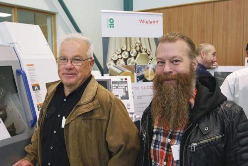 Kent Keijser och Andreas Axelsson, Atlas Copco Tierp.