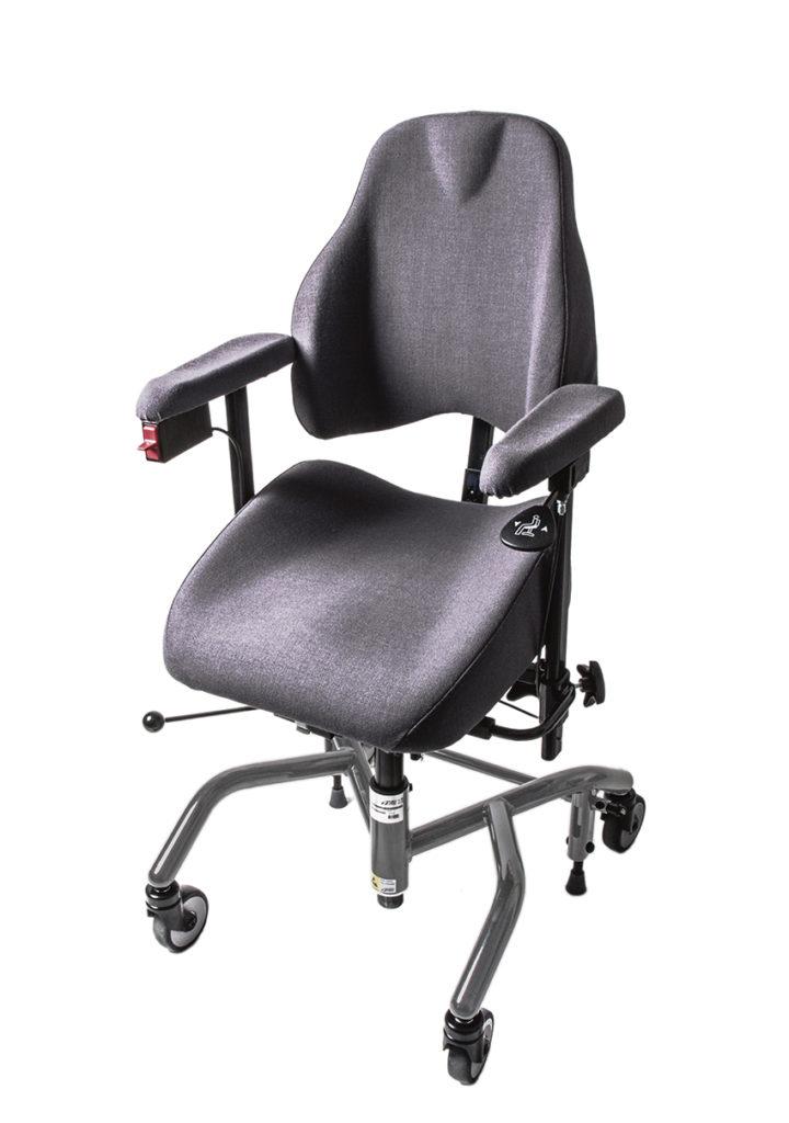 Här är en bild på en så kallad ESD (Elektro statisk urladdning) stol från företagets 7000 serie som inriktar sig på industrin.