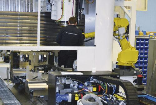 Fullt upp med installation av RigiMill. Modig Machine Tools har så mycket orders att de har börjat med skiftarbete.