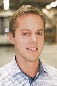 Produktionschef Martin Larsson