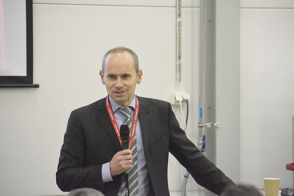 Tommaso Bonuzzi projekt och marknadschef Salvagnini Italy S.p.A