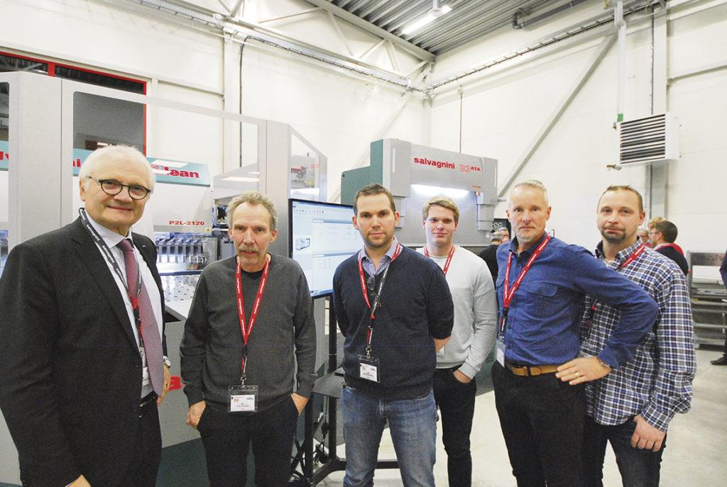 NIBE Industrier är en av Salvagninis alla kunder i Sverige.