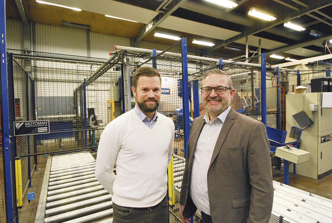 Det nya ledarskapet har satt sig och Mathias Larsson och Bo Hansson kan se framtiden med tillförsikt. Man har vidtagit många åtgärder och jobbat hårt tillsammans med sina medarbetare för att få till en samsyn på hur mycket effektivare man behöver bli för att klara sina leveranser mot kund utan avkall på kvalitet och få en god lönsamhet i verksamheten.