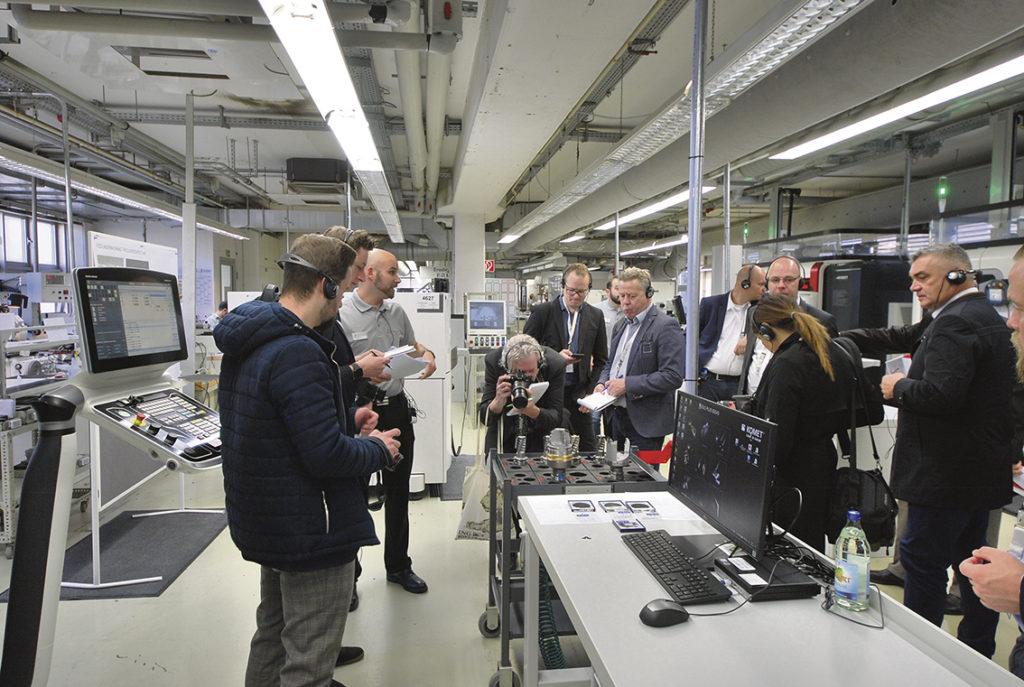 Stort intresse kring tillverkningen av PCD verktyg från KOMET.