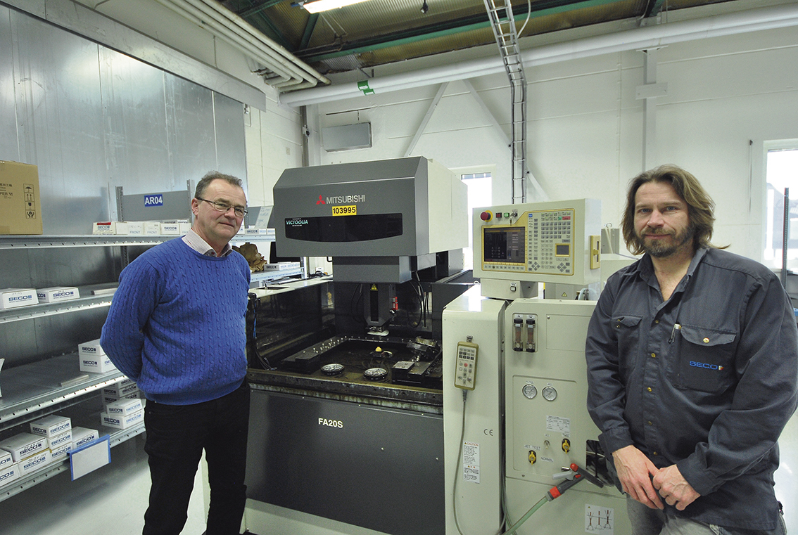 Lennart Rönn Victoolia AB och Torbjörn Larsson Seco Tools