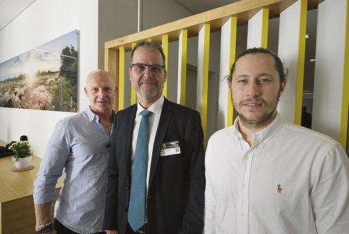 Anders Rundqvist IMI, Stefan Hansson Horn Sverige och Lorand Deak IMI.