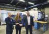 En riktigt bra investering med nöjda parter. Henrik Brodén Fastems, Maria Bäckström Cameco och Per Karlsson Mekana Maskin.
