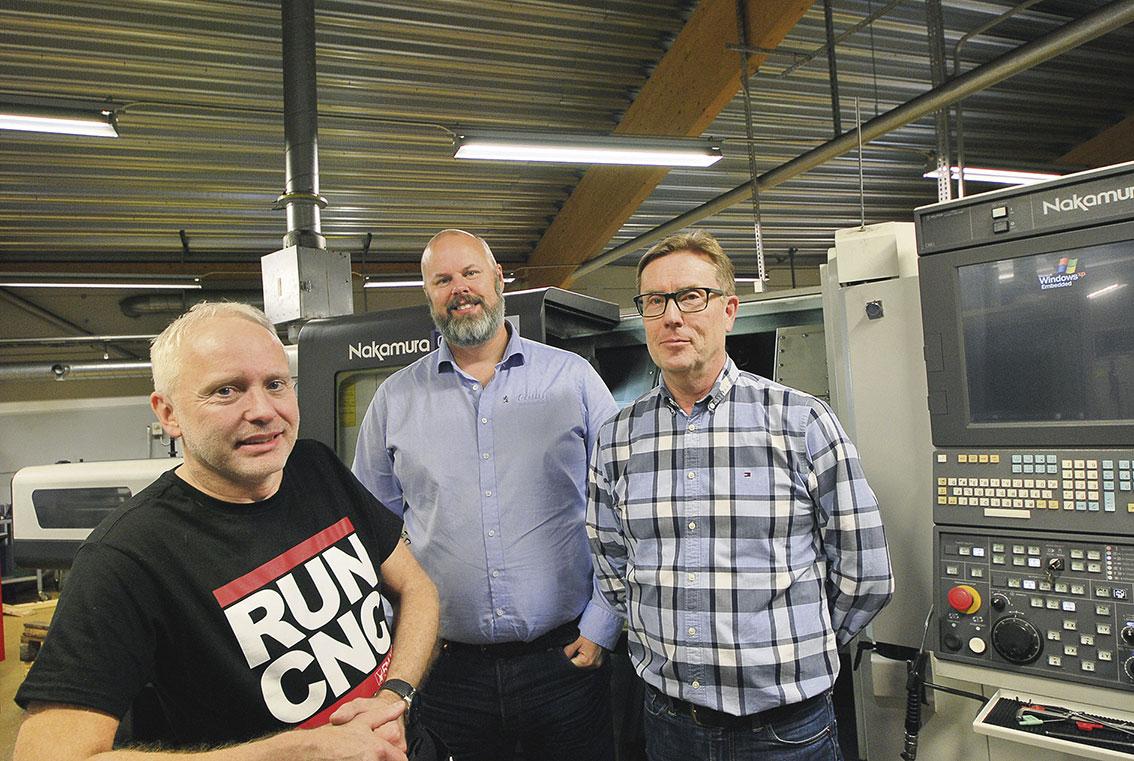 "Tommy ""Myggan"" Jansson, Anders Kock och Rolf Öberg."