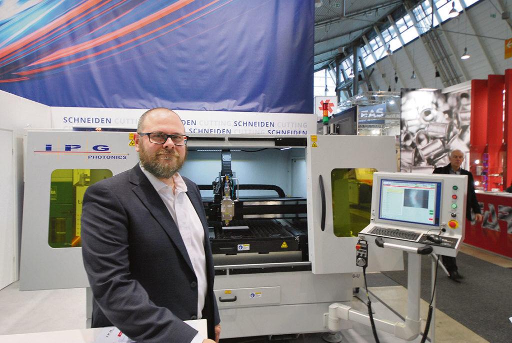 IPG Laser GmbH är en av världens största tillverkare av lasersystem. Företaget erbjuder nyckelfärdiga system för svetsning och skärning med extrem precision och kvalitet. Tangra AB är generalagent för produkterna i Sverige. Och bakom företaget Tangra står Philip Marriott.