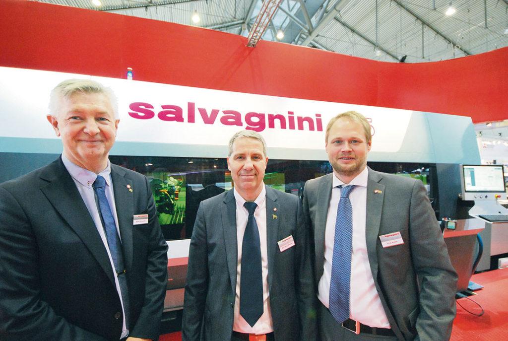 Kända ansikten i branschen. Björn Ahlqvist, Pelle Walin och Erik Arden Salvagnini Scandinavia.