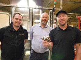 Per Grudin, Anders Kock och Andreas Klockar