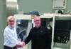 Jan Langfelder, managing director ANCA Europe GmbH och Anders Berglind, vd Ehn & Land AB.
