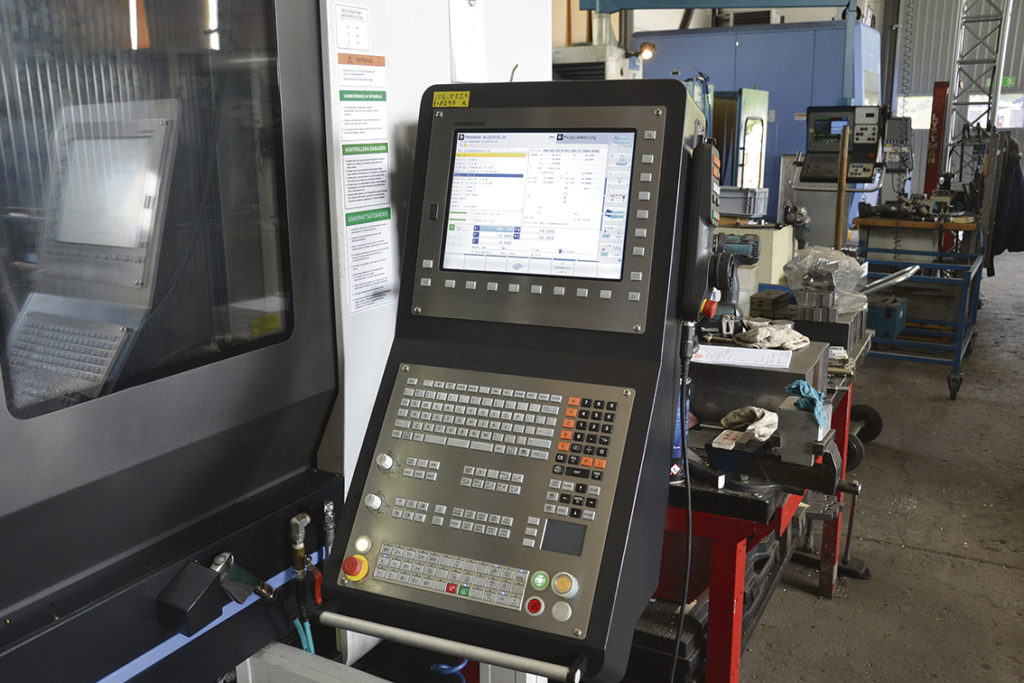 Till Doosan 850 VCF LSR II valde Slipmekano Heidenhain TNC 640 som styrsystem, vilket är ett system som de kände till sedan tidigare och är nöjda med.