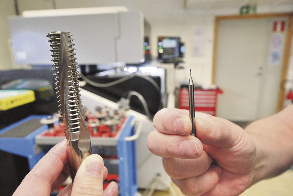 Skärande verktyg för en krävande industri.