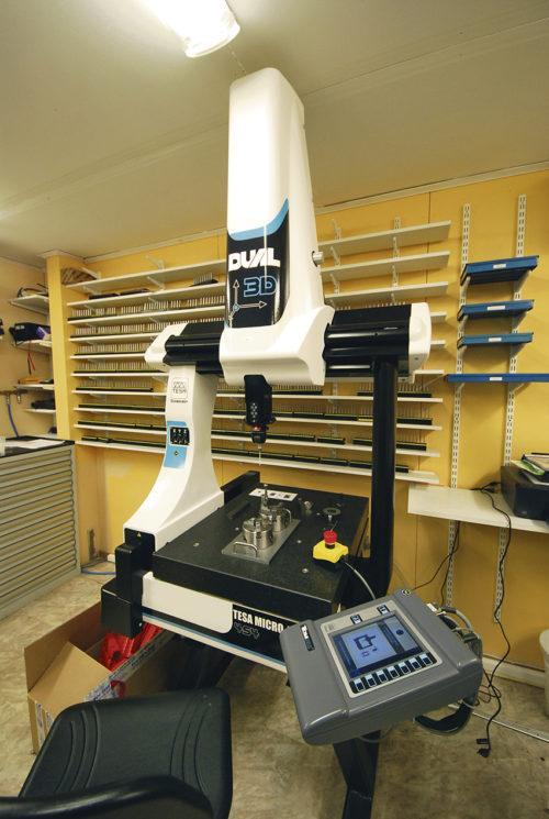 Teach-in mätmaskin från TESA.