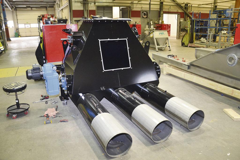 PST:s transportörer kan  användas till mycket, bland annat som inmatare och transportsystem för pelletsbrännare.
