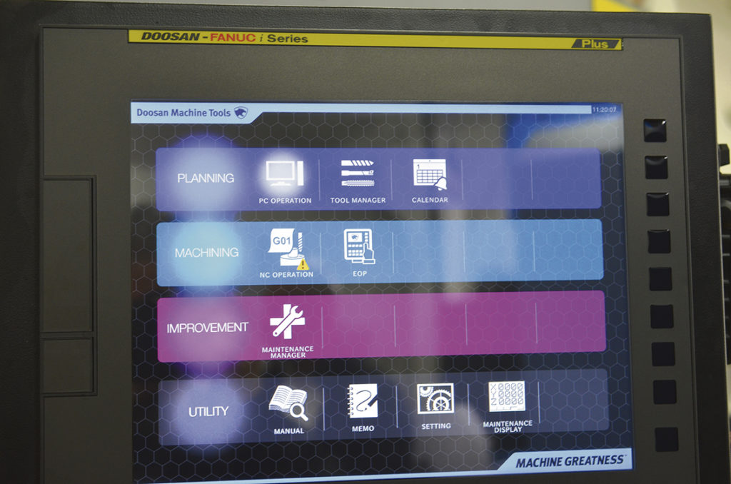 "Styrsystem Fanuc 0iT PLUS EZ-Guide iHMI samt Touch display 15""."